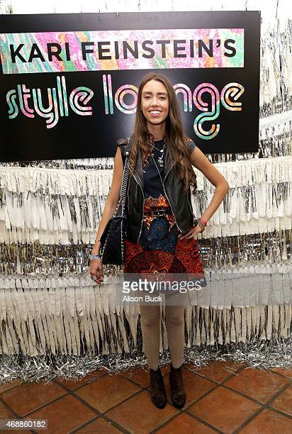 Blogger Thania Peck attends Kari Feinstein's Music Festival Style Lounge at Sunset Marquis Hotel Villas on April 7 2015 in West Hollywood California