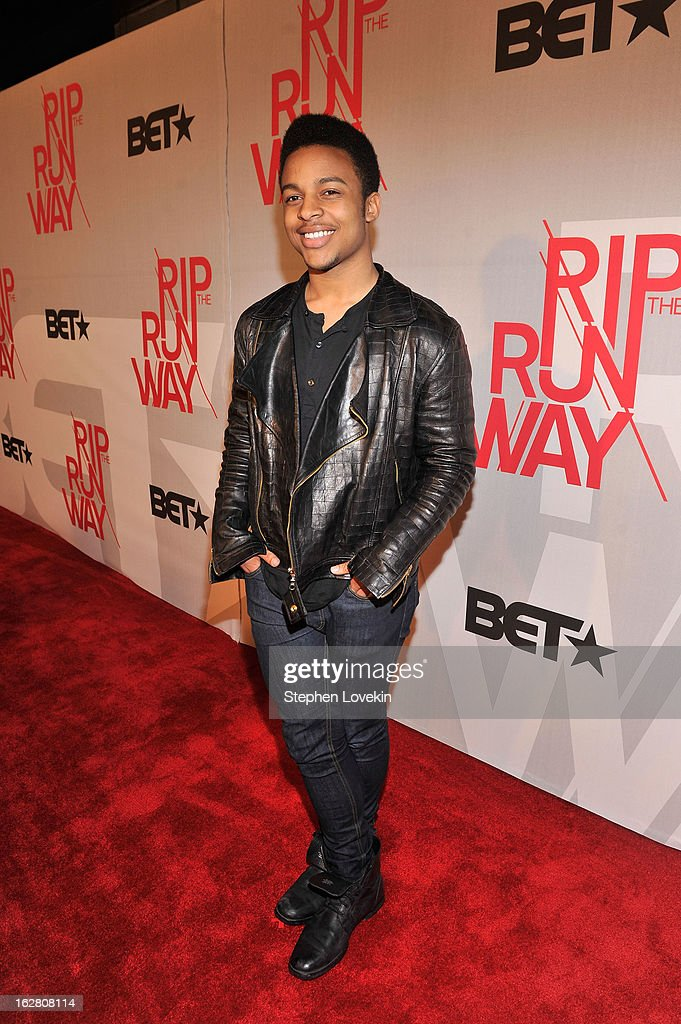 Blogger Willy Green attends BET's Rip The Runway 2013:Red Carpet at Hammerstein Ballroom on February 27, 2013 in New York City.