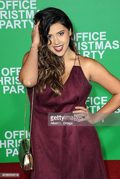 Blogger Ydelays arrives at the Premiere Of Paramount Pictures' 'Office Christmas Party' held at Regency Village Theatre on December 7 2016 in...