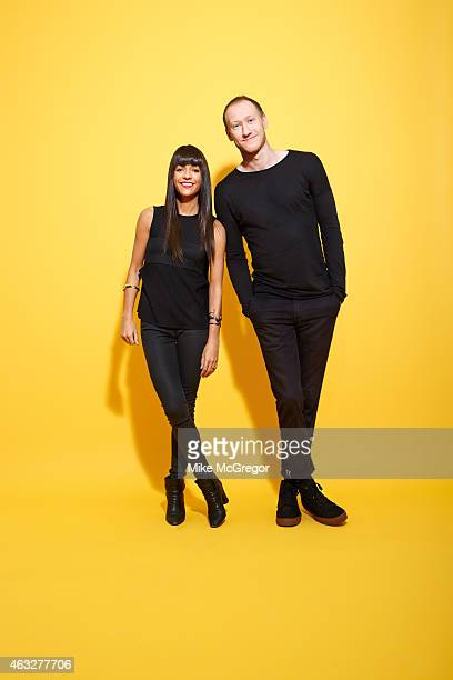 Bloggers and authors Jessica Walsh and Timothy Goodman are photographed for Grazia UK on January 2 2015 in New York City PUBLISHED IMAGE