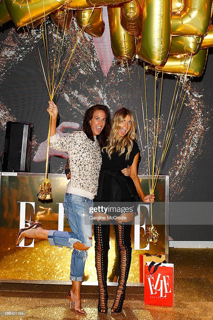 Bloggers Elle Ferguson and Tash Sefton attend the Hello Elle Australia show after party during Mercedes-Benz Fashion Week Australia Spring/Summer 2013/14 at Carriageworks on April 12, 2013 in Sydney, Australia.