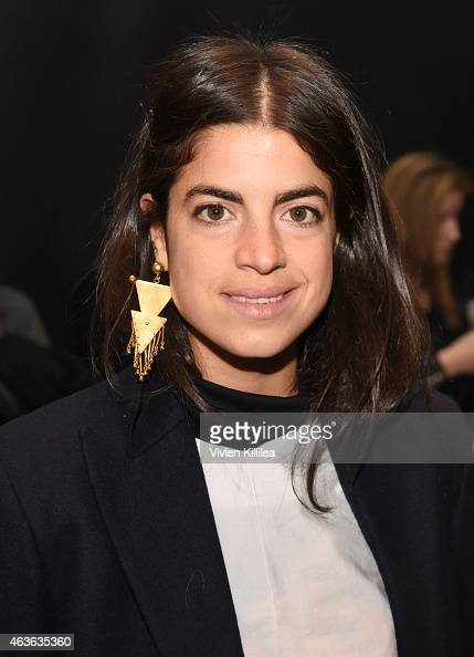 Bloggers Leandra Medine attends the rag bone show during MercedesBenz Fashion Week Fall 2015 at Spring Studios on February 16 2015 in New York City