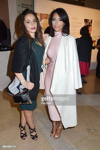 Bloggers Peekaboooblog and Sananas attend the 'Octobre Rose 2015' Party To Benefit Breast Cancer Research hosted by Estee Lauder At the Palais...