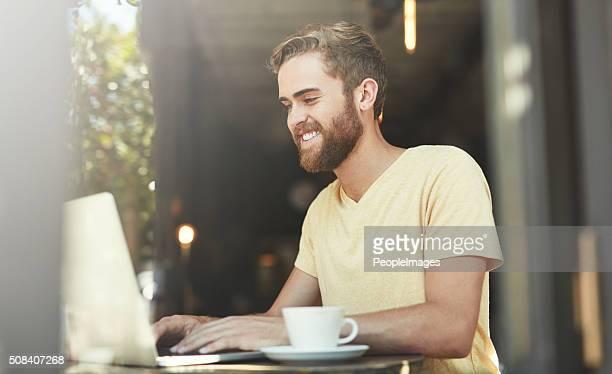 Blogging est mieux au café