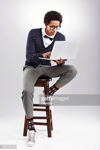 Blogger ist sein neues hobby