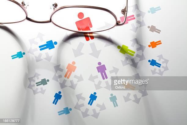 Blogging. Social Media. Network.