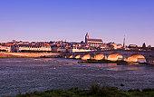 Blois France, Pont (bridge) Jacques Gabriel
