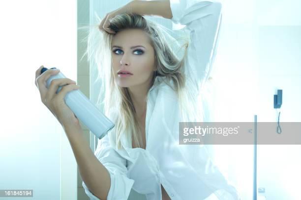 Blonde beauté soins capillaires