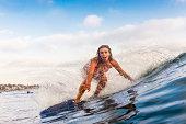 Blonde Surfer Girl