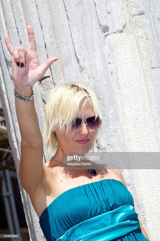 Blonde Woman : Stock Photo