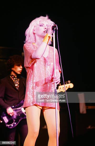Blondie Deborah Harry and Nigel Harrison live in NYC NYC August 1976