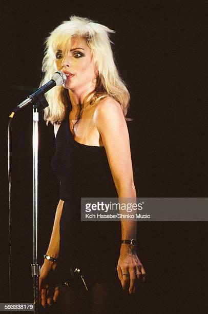 Blondie Deborah Harry live at Nakano Sun Plaza Tokyo January 11 1978