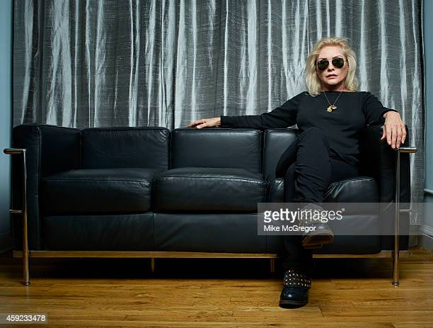 Blondie member Debbie Harry is photographed for The Observer Newspaper on October 21 2014 in New York City