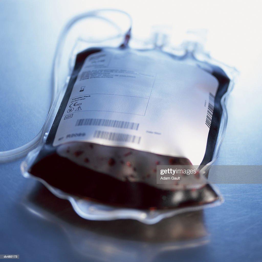 Blood Bag : Stock Photo