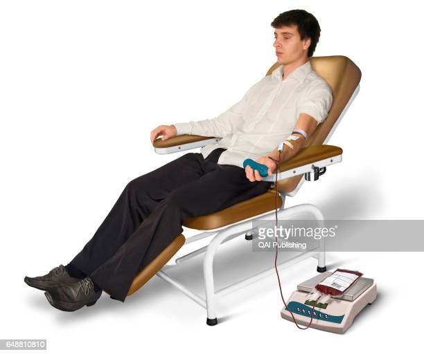 Blood donation A blood donation is a process by which a person voluntarily offers his blood or one of its components so that it can be used during...