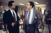 LAW ORDER 'Blood Libel' Episode 9 Air Date Pictured Benjamin Bratt as Detective Rey Curtis Jerry Orbach as Detective Lennie Briscoe Photo by NBCU...