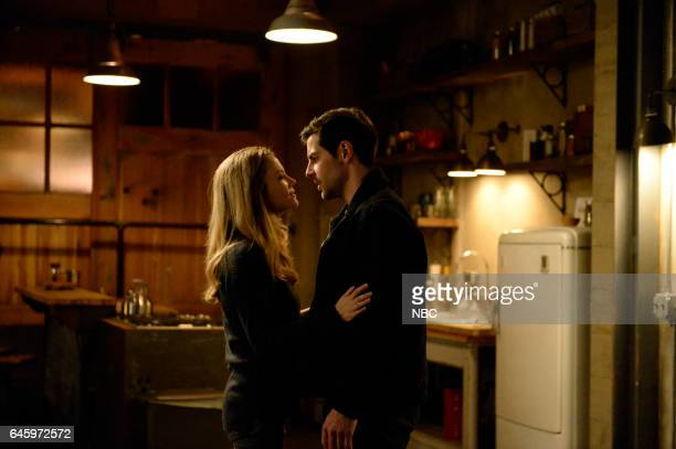 GRIMM 'Blood Magic' Episode 610 Pictured Claire Coffee as Adalind Schade David Giuntoli as Nick Burkhardt