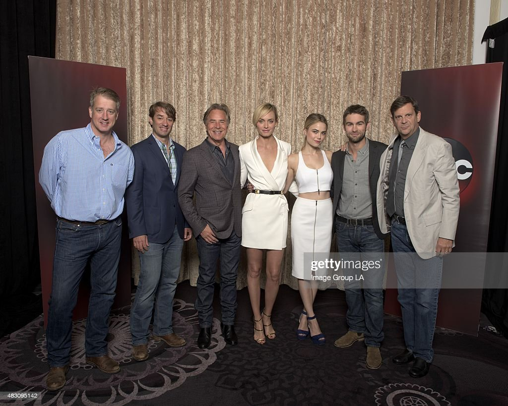 TOUR 2015 - 'Blood & Oil' Session - The cast and producers of ABC's 'Blood & Oil' at Disney | ABC Television Group's Summer Press Tour 2015 at The Beverly Hilton in Beverly Hills, California.