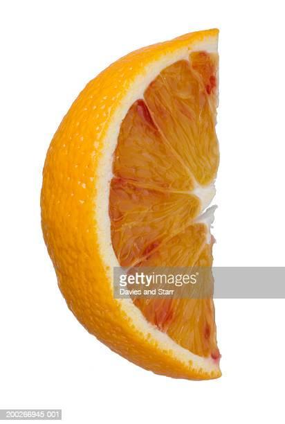 Blood orange wedge