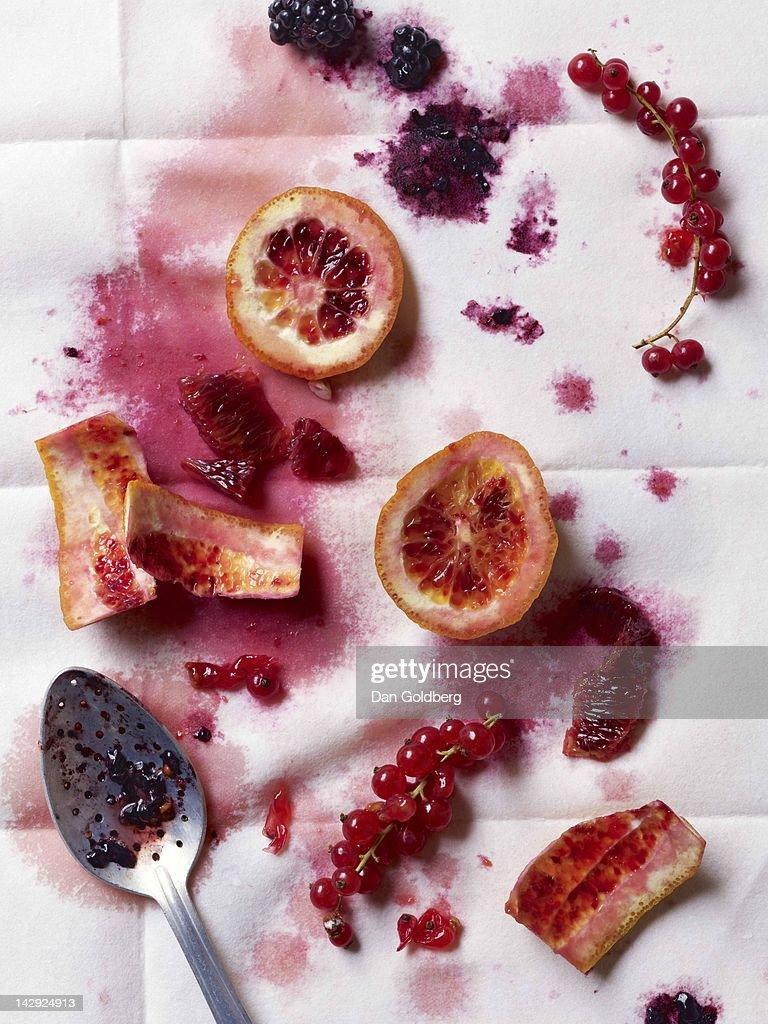 Blood oranges : Stock Photo