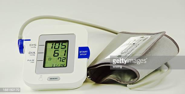 Blutdruck. Electric Sphygmomanometer