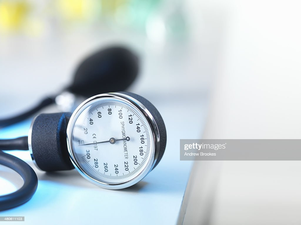 Blood pressure gauge in Doctors surgery
