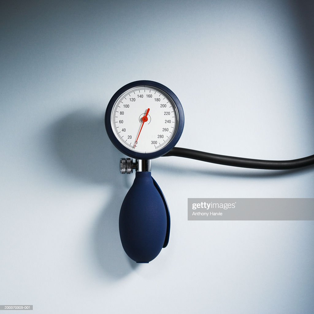 Blood pressure gauge with tube