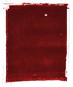 Blood Red Grunge Background