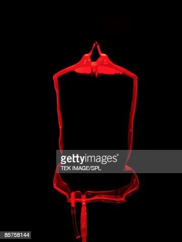 Blood transfusion bag