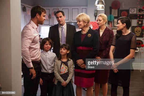 OUT 'Bloodbath' Episode 310 Pictured Sean Kleier as Lex Von Weber Andy Buckley as Andy Weber Joanna Cassidy as Candace Von Weber Abby Elliott as...