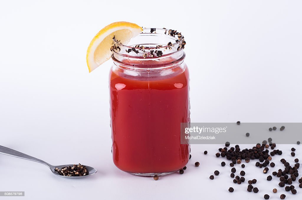 Bloody mary cocktail : Stock Photo