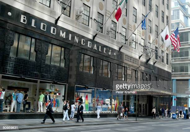 Bloomingdales Department Store on Lexington Ave June 14 2004 in New York City