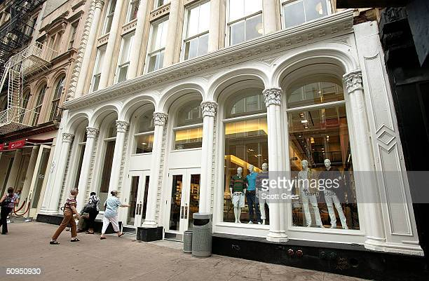 Bloomingdale's in SoHo June 11 2004 in New York City