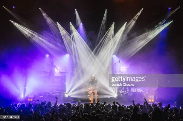 Blossoms perform at The Roundhouse on March 23 2017 in London United Kingdom