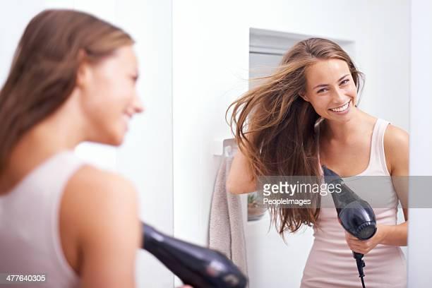 Haaren Blowdrying Ihr