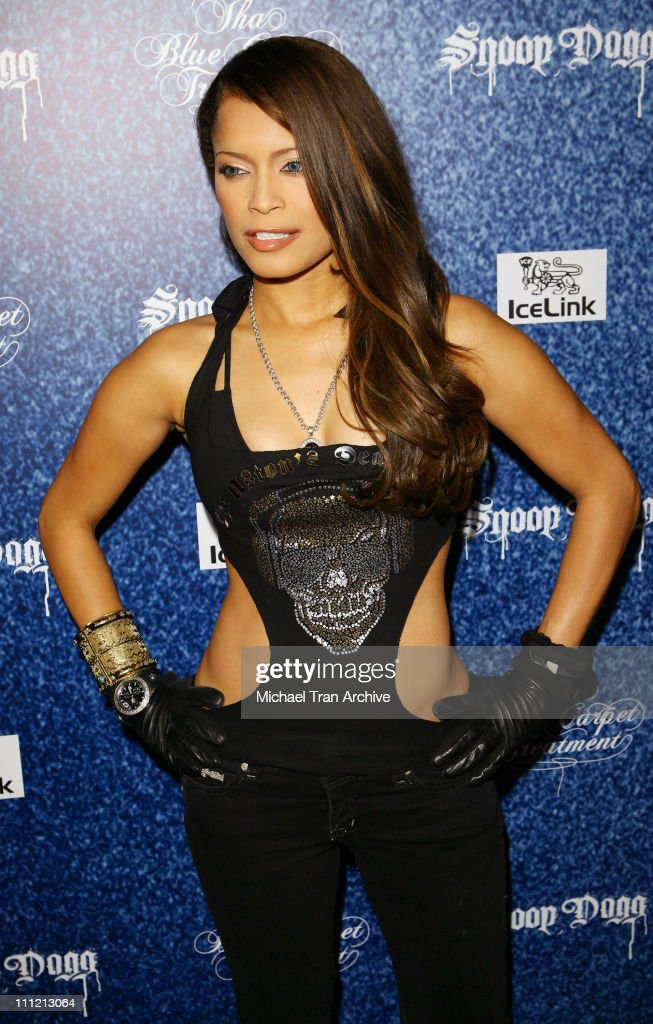 Blu Cantrell during 'Tha Blue Carpet Treatment' Album Release Party Arrivals at Area in West Hollywood California United States