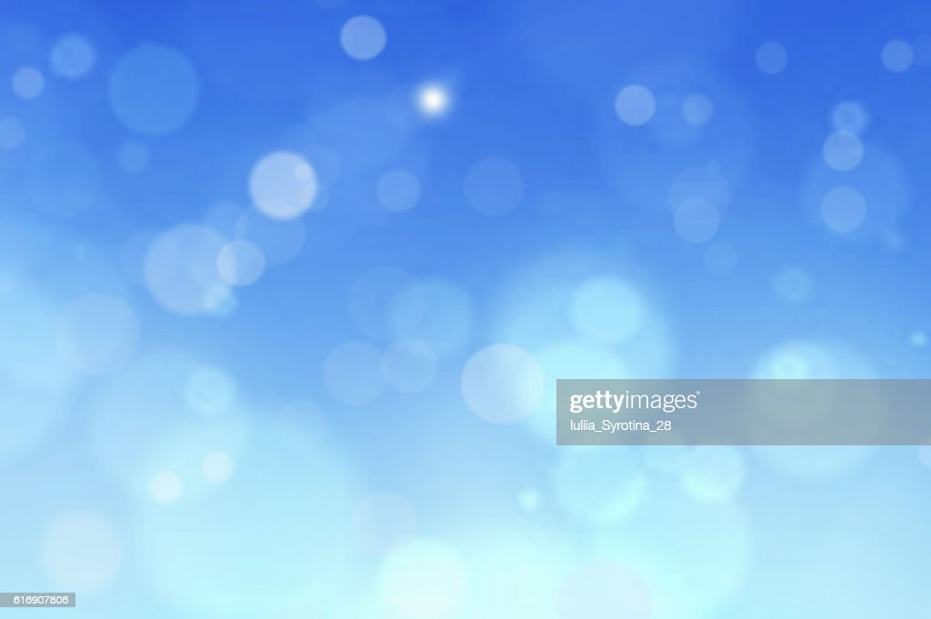 Blue abstract background blur.Holiday wallpaper. : Stock Photo