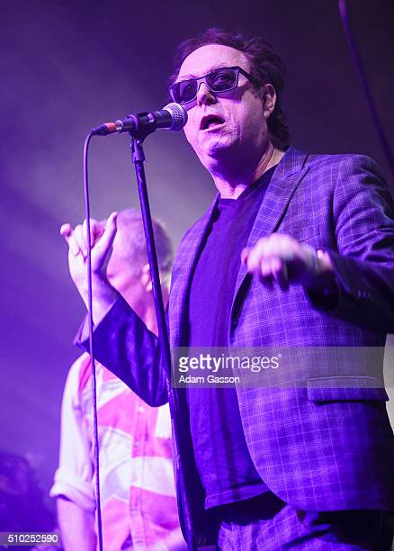 Blue Aeroplanes perform on the third day of the BBC 6 Music Festival at Colston Hall on February 14 2016 in Bristol England