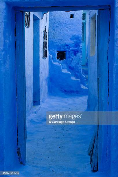 Blue alley in Chefchaouen