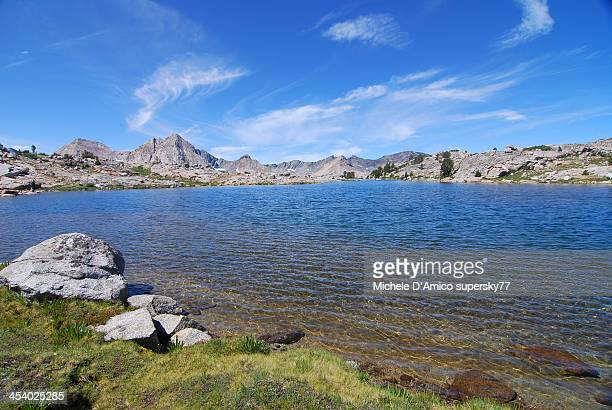 Blue alpine lake