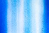 Blue and aqua watercolor stripes