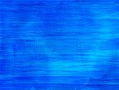 Blue and  aqua watercolor waves
