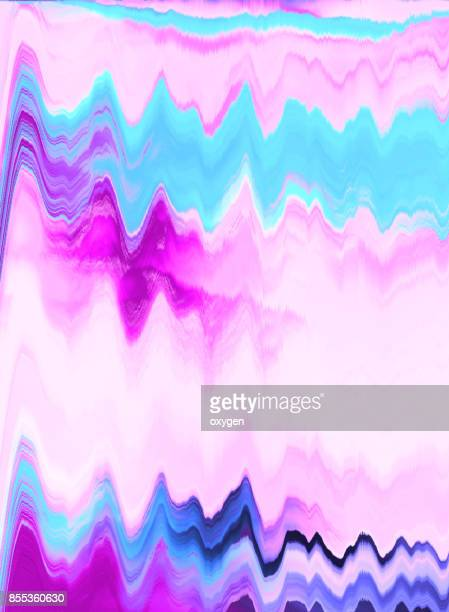 Blue and Pink abstract painted marble illustration