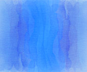 Blue and purple overlapping watercolor stripes