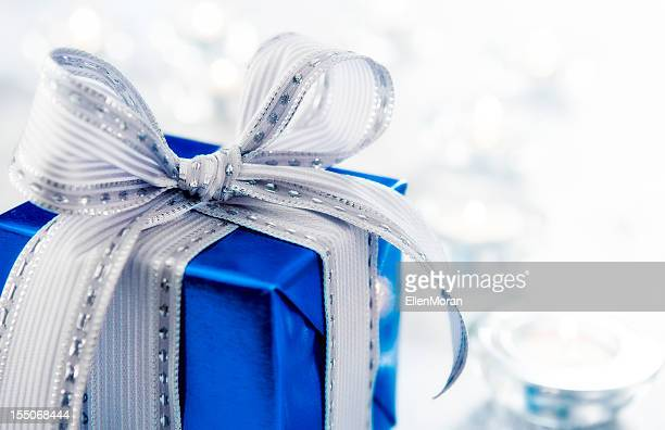 Blue and Silver Gift