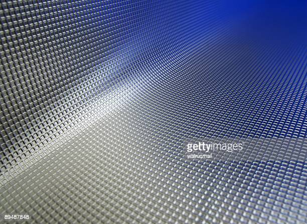 Blue and silver metal texture fade background