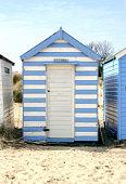 striped beach hut southwold suffolk