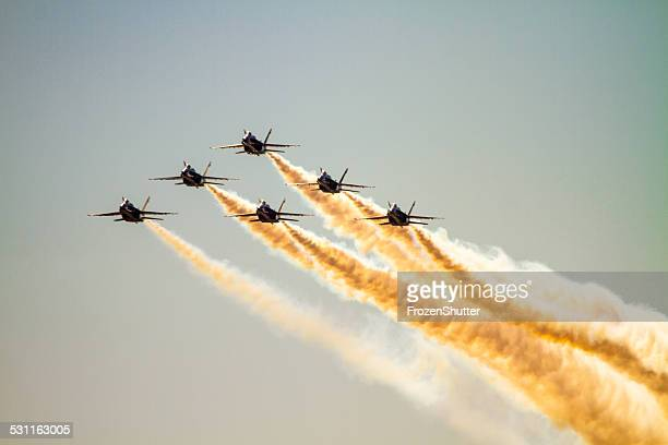 US NAVY Blue Angels Squadron