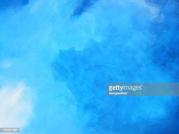 Blue background made of clouds