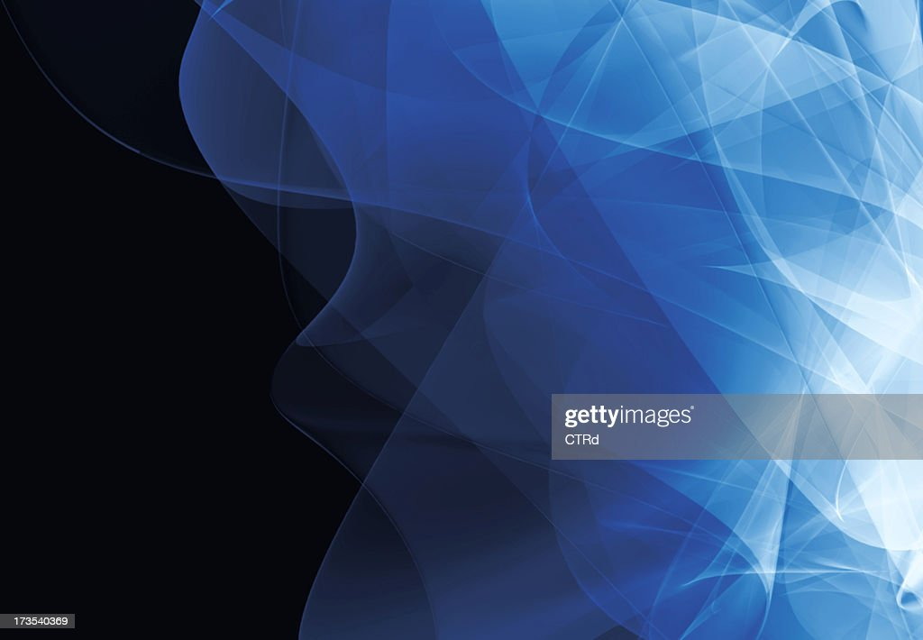 3D Blue background : Stock Photo